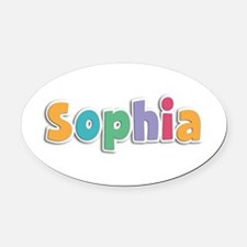 Sophia Spring11 Oval Car Magnet