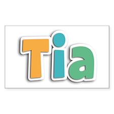 Tia Spring11 Rectangle Decal