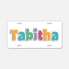 Tabitha Spring11 Aluminum License Plate