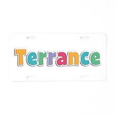 Terrance Spring11 Aluminum License Plate
