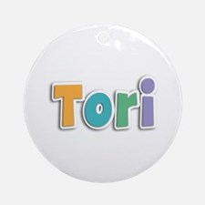 Tori Spring11 Round Ornament