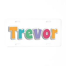 Trevor Spring11 Aluminum License Plate