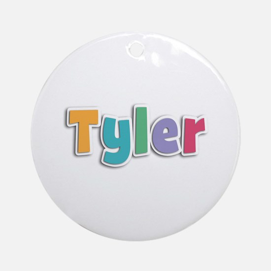 Tyler Spring11 Round Ornament