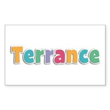 Terrance Spring11 Rectangle Decal