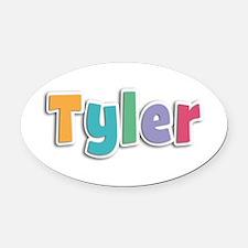 Tyler Spring11 Oval Car Magnet