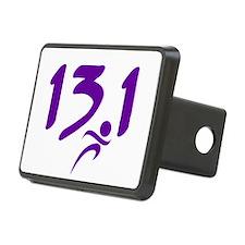 Purple 13.1 half-marathon Hitch Cover