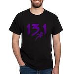 Purple 13.1 half-marathon Dark T-Shirt
