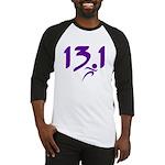 Purple 13.1 half-marathon Baseball Jersey