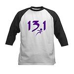 Purple 13.1 half-marathon Kids Baseball Jersey