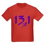 Purple 13.1 half-marathon Kids Dark T-Shirt