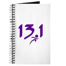 Purple 13.1 half-marathon Journal