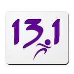 Purple 13.1 half-marathon Mousepad