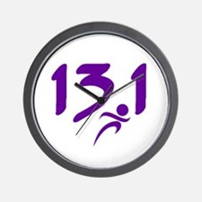 Purple 13.1 half-marathon Wall Clock