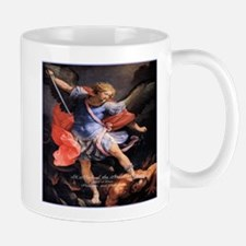 Saint Michael the Archangel Quis ut Deus Mug