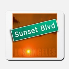 Sunset Boulevard Los Angeles Mousepad