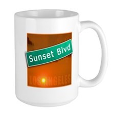 Sunset Boulevard Los Angeles Mug
