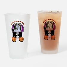 Halloween Just a Lil Spooky Havanese Drinking Glas