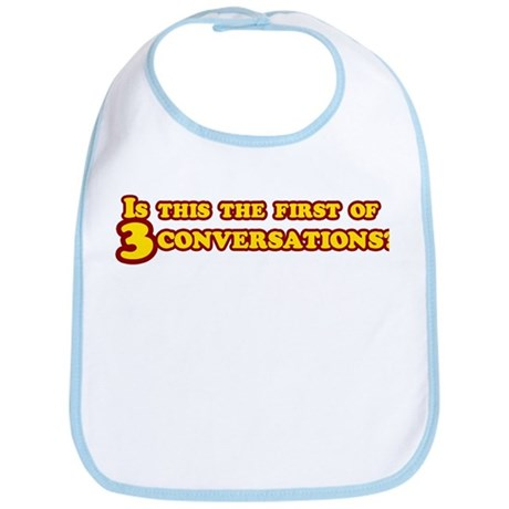 Three Conversations Bib