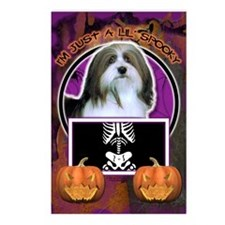 Halloween Just a Lil Spooky Havanese Postcards (Pa