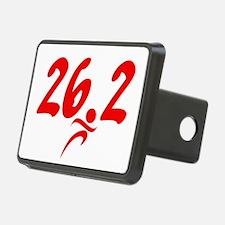 Red 26.2 marathon Hitch Cover