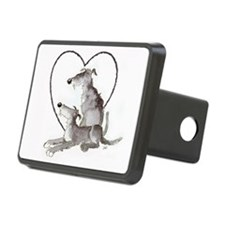 Scottish Deerhounds in Heart Hitch Cover