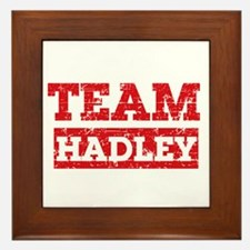 Team Hadley Framed Tile