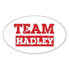Team Hadley Decal