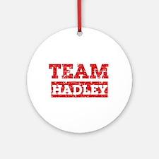 Team Hadley Ornament (Round)