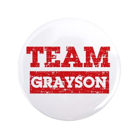 "Team Grayson 3.5"" Button (100 pack)"