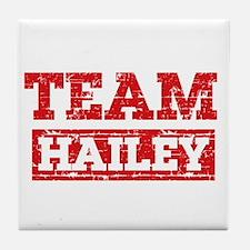 Team Hailey Tile Coaster