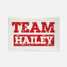 Team Hailey Rectangle Magnet