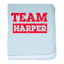 Team Harper baby blanket