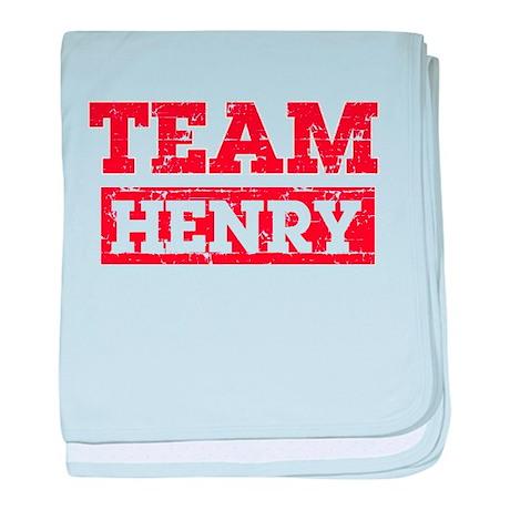 Team Henry baby blanket