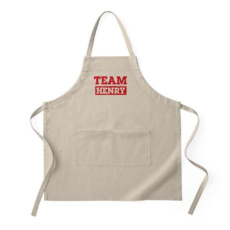 Team Henry Apron
