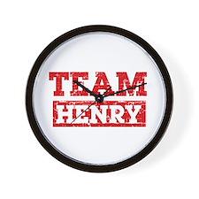 Team Henry Wall Clock