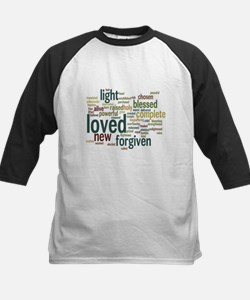 Who I am in Christ Teal Tee
