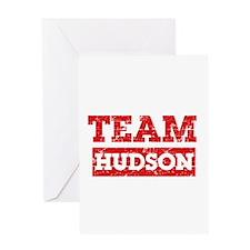 Team Hudson Greeting Card