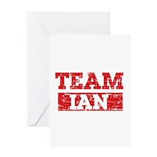 Team Ian Greeting Card