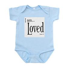 I am Loved Romans 5:8 Infant Bodysuit