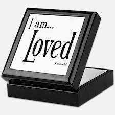 I am Loved Romans 5:8 Keepsake Box