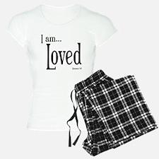I am Loved Romans 5:8 Pajamas