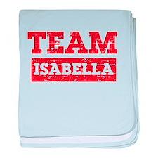 Team Isabella baby blanket