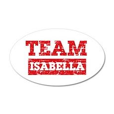 Team Isabella Wall Decal