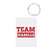 Team Isabelle Aluminum Photo Keychain