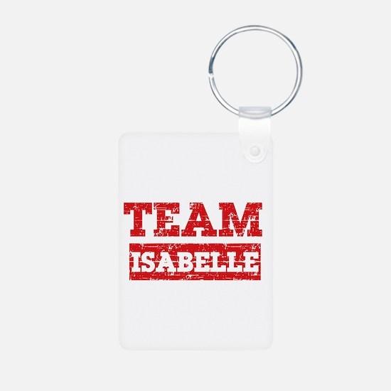 Team Isabelle Aluminum Photo Keychain