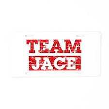 Team Jace Aluminum License Plate