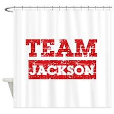 Team Jackson Shower Curtain