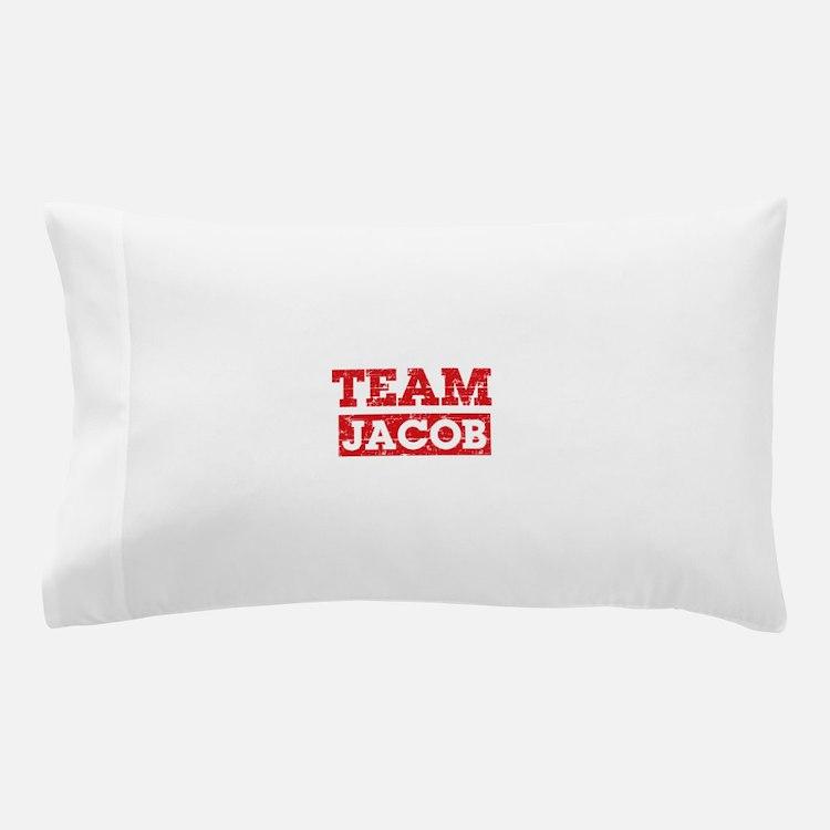 Team Jacob Pillow Case