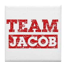 Team Jacob Tile Coaster