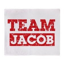 Team Jacob Throw Blanket